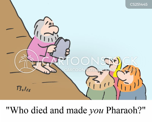 ten plagues cartoon