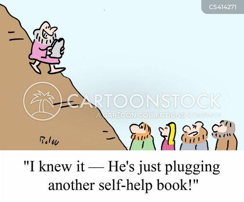 plugging cartoon