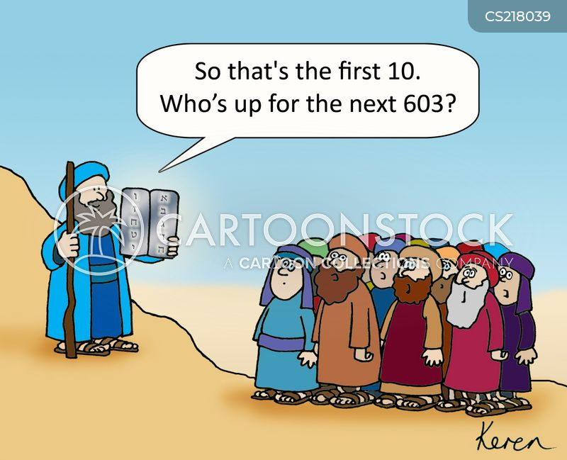 Jewish Law Cartoons and Comics - funny pictures from CartoonStock