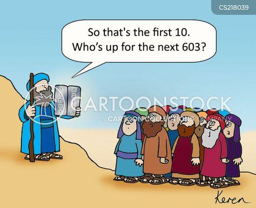 jewish law cartoon