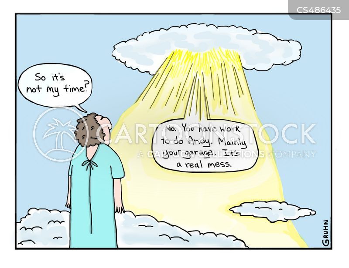 talking to god cartoon