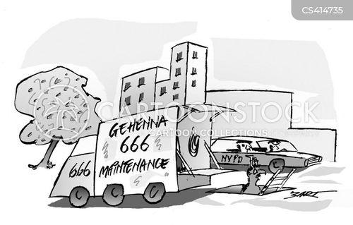 maintenance crew cartoon