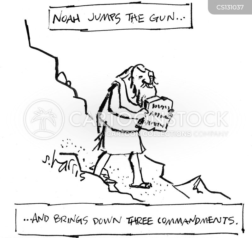 jumping the gun cartoon