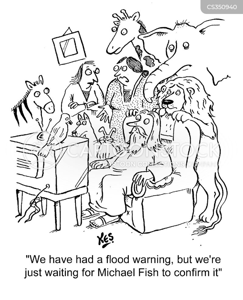 michael fish cartoon