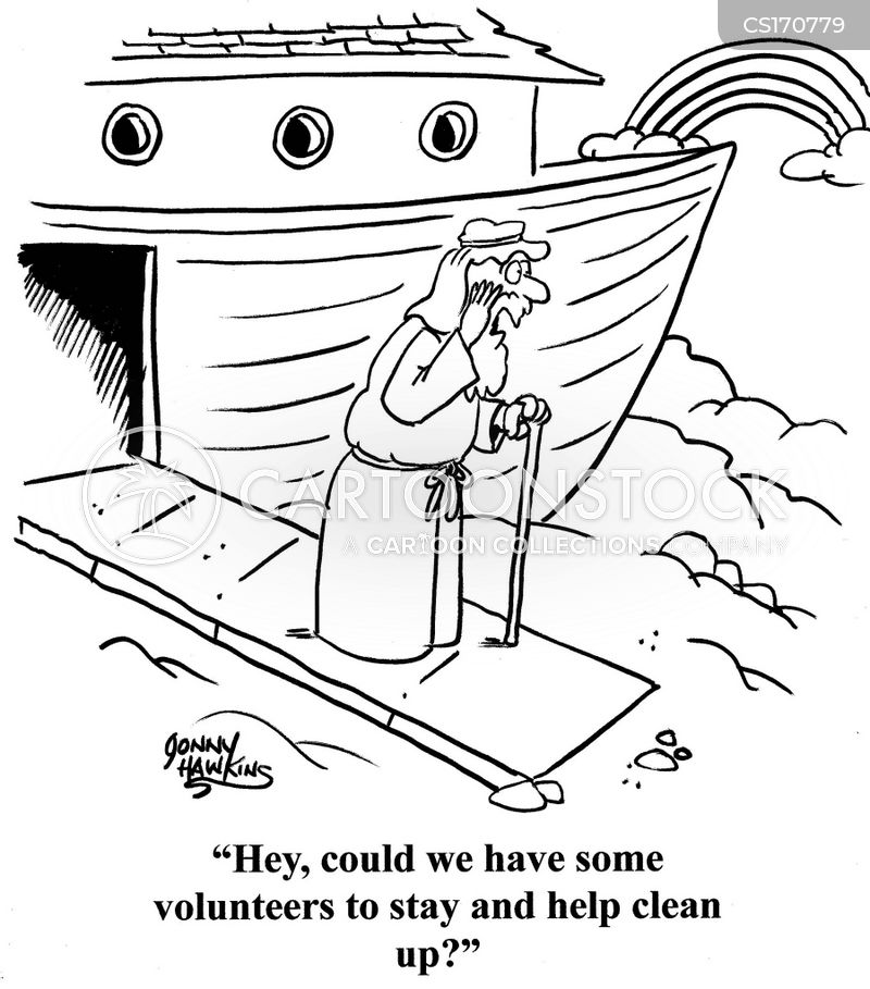 cleanliness cartoon