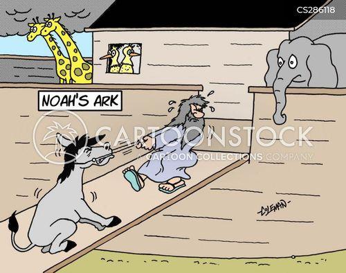 mule cartoon