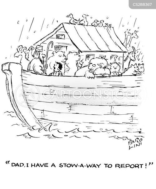 stowaway cartoon