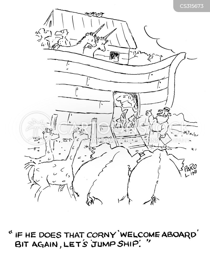 noah the ark cartoon
