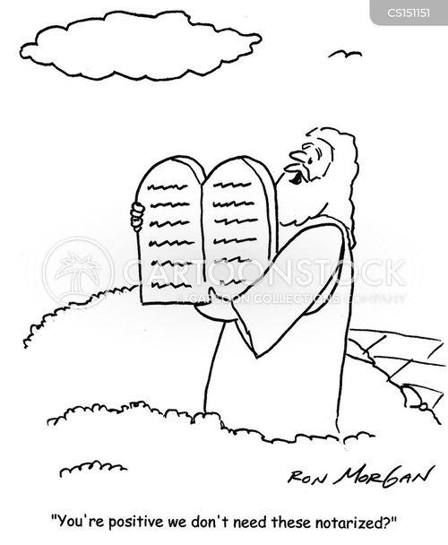 legal document cartoon