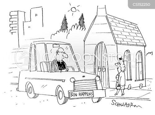 sinfulness cartoon