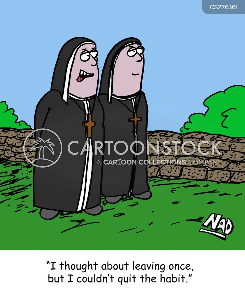 religious orders cartoon
