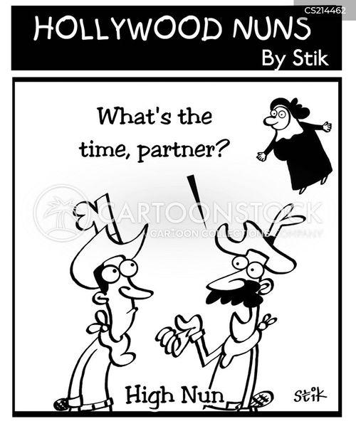 high noon cartoon