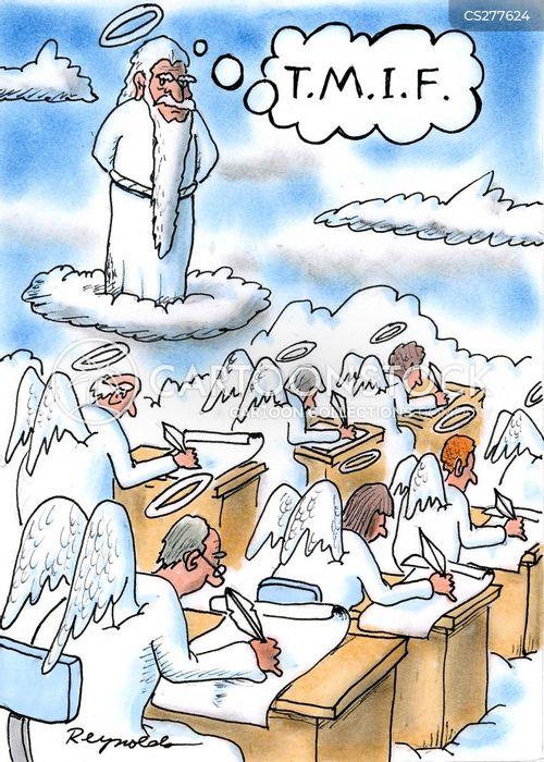 week cartoon