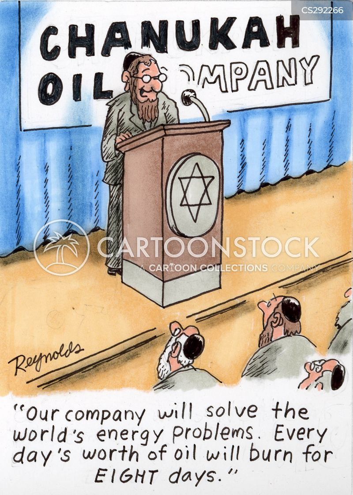 oil shortage cartoon