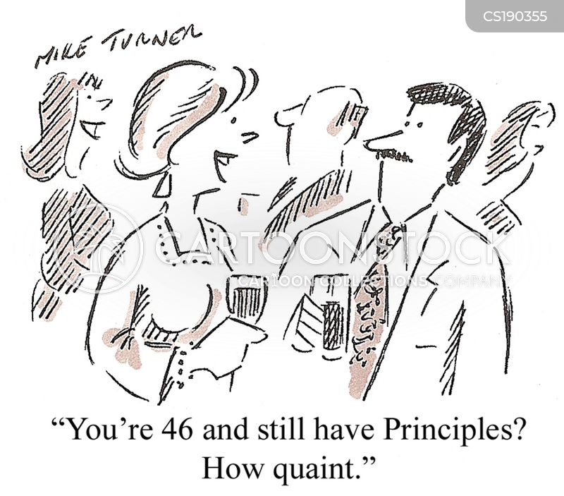 principle cartoon