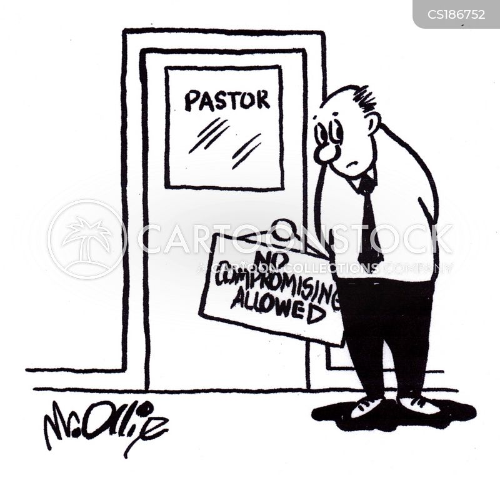 church-goers cartoon