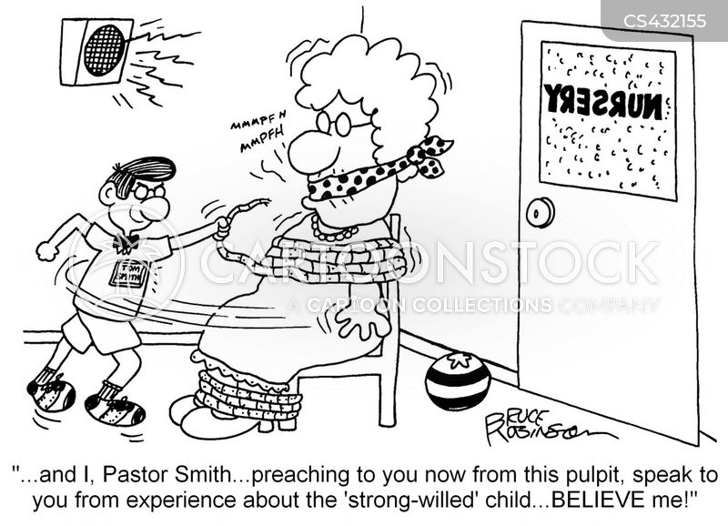 church nurseries cartoon