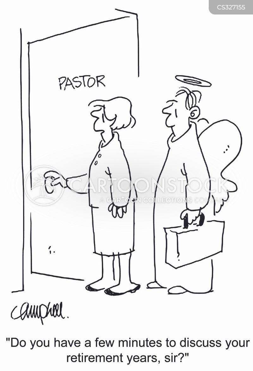 church secretary cartoon