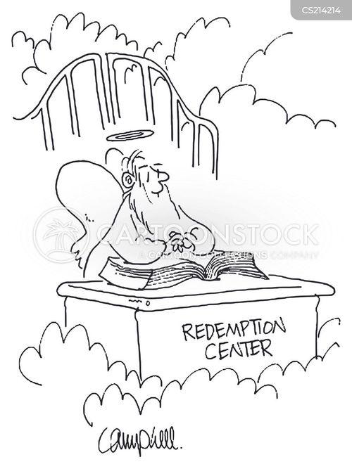 redeeming cartoon