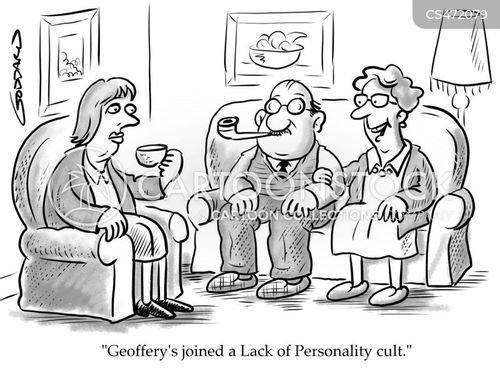 personality cult cartoon