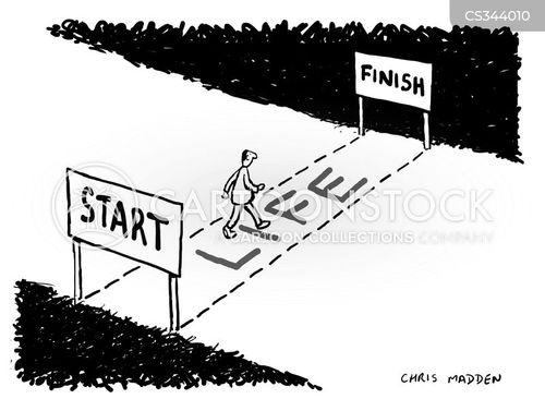 life plan cartoon