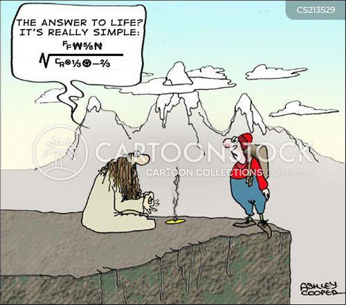life guru cartoon