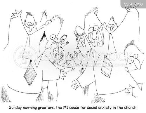 socially anxious cartoon