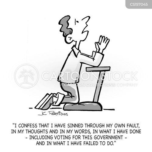 religious practices cartoon