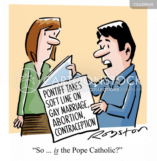 pontiffs cartoon