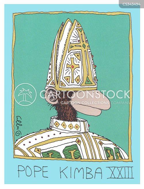 religious figures cartoon