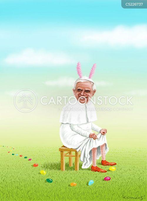 pope benedict cartoon