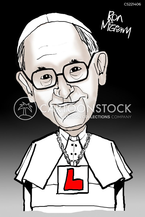 roman catholic church cartoon