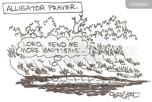 baptisms cartoon
