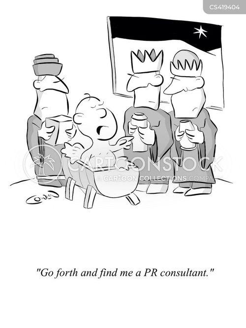 pr consultants cartoon
