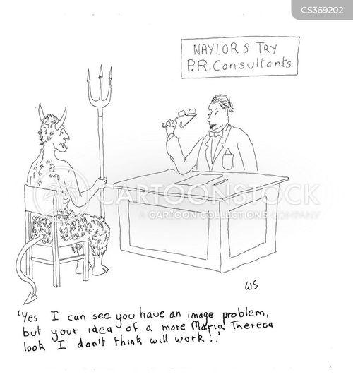 image problem cartoon