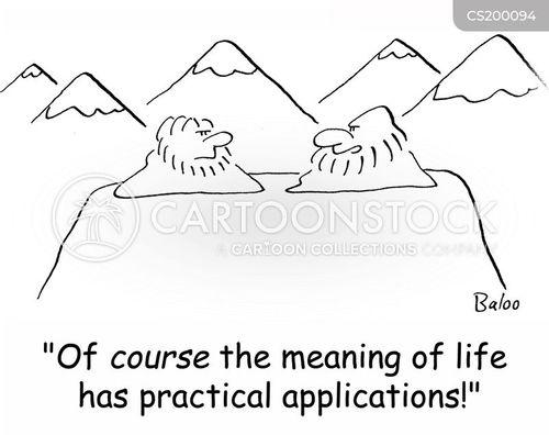 practical application cartoon