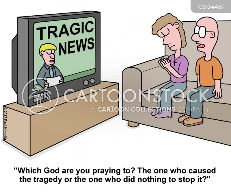 sacrilegious cartoon