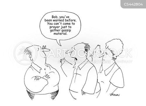 church group cartoon