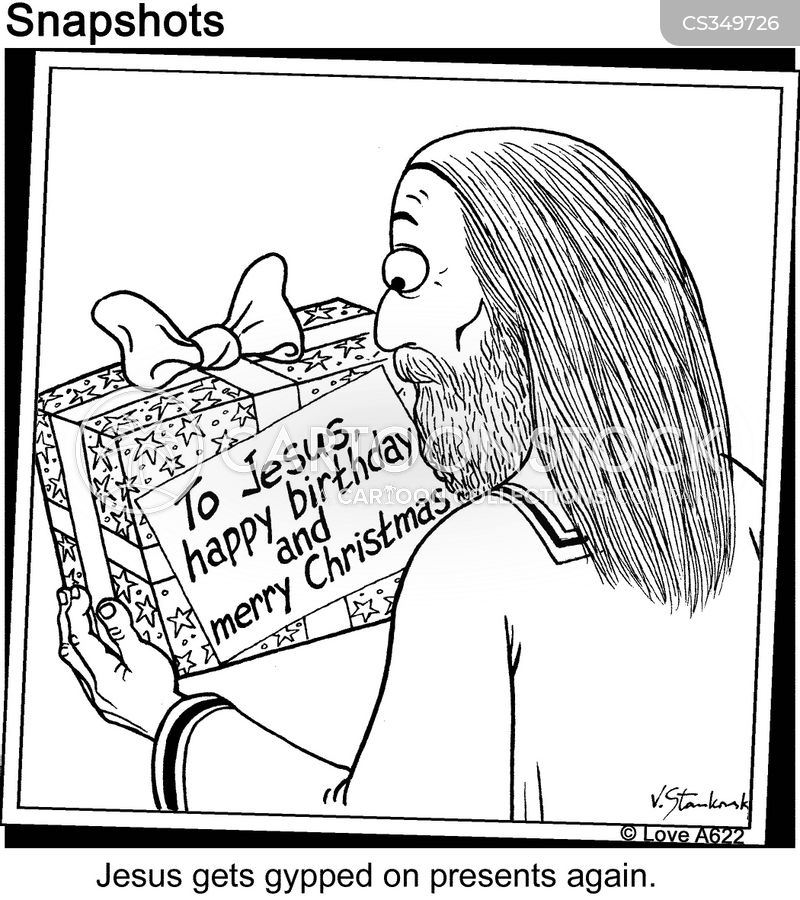 jesus gets gypped on presents again label reads to jesus happy birthday and merry christmas - Birthday On Christmas