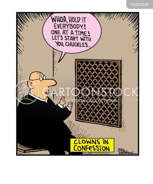 confesses cartoon