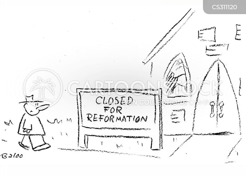 reformation cartoon
