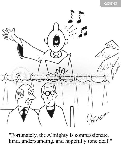 choir robe cartoon