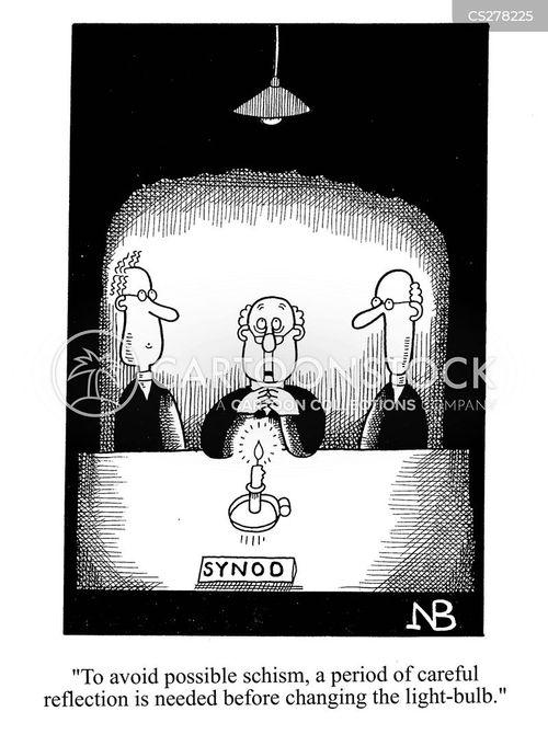 schism cartoon