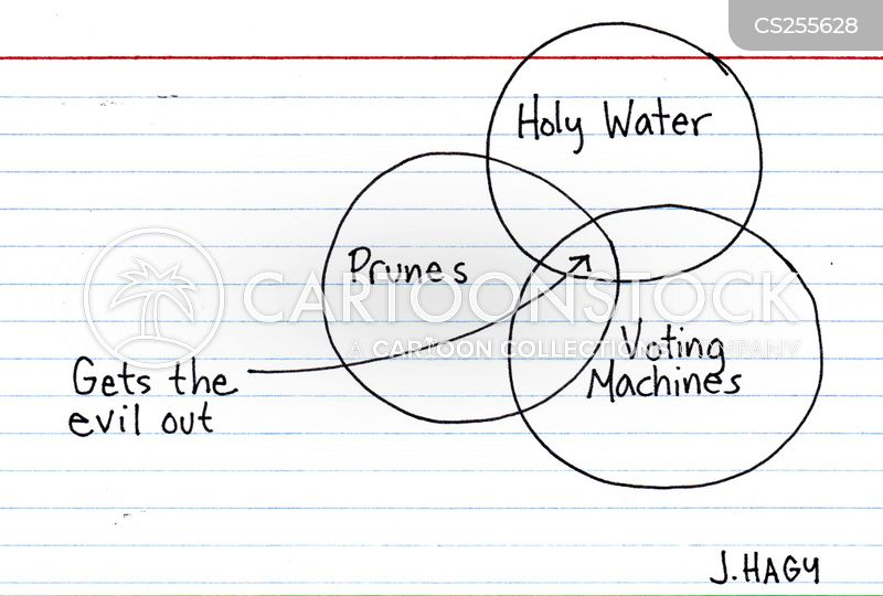 holy water cartoon