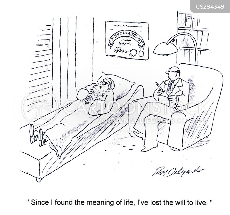lost the will to live cartoon