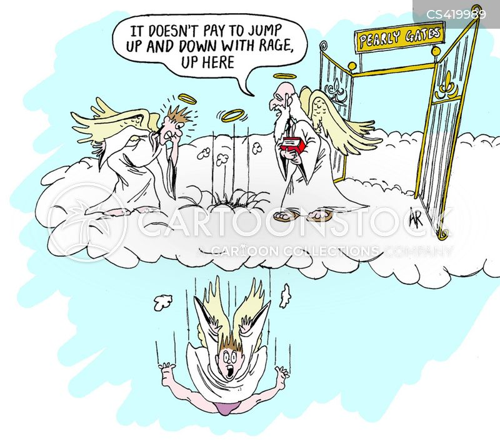 enraged cartoon