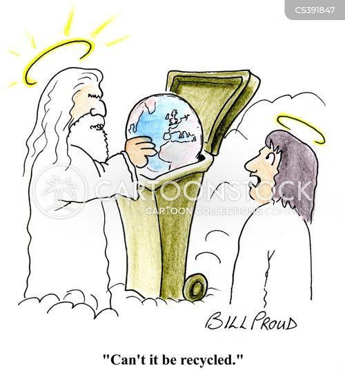 trashcan cartoon