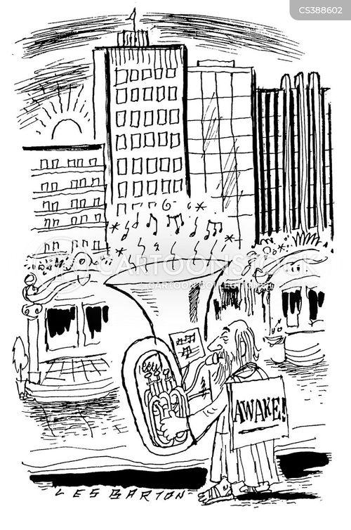 bassoon cartoon