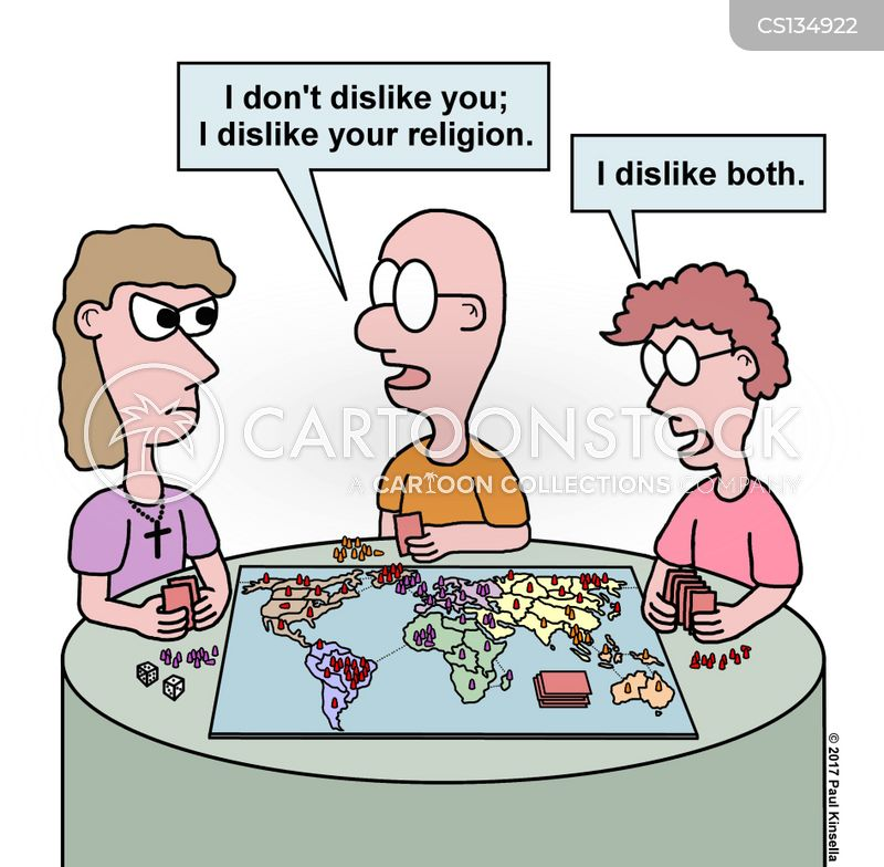 secularist cartoon