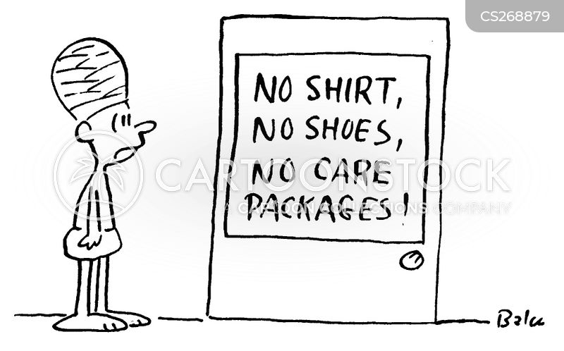 care packages cartoon